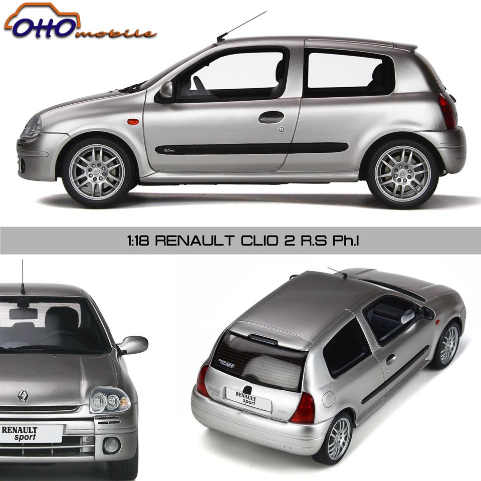 Renault clio 2 rs phase 1 Ottomobile 1:18