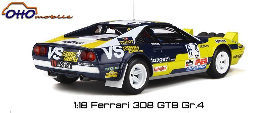 Ferrari 308 GTB Otto 1:18