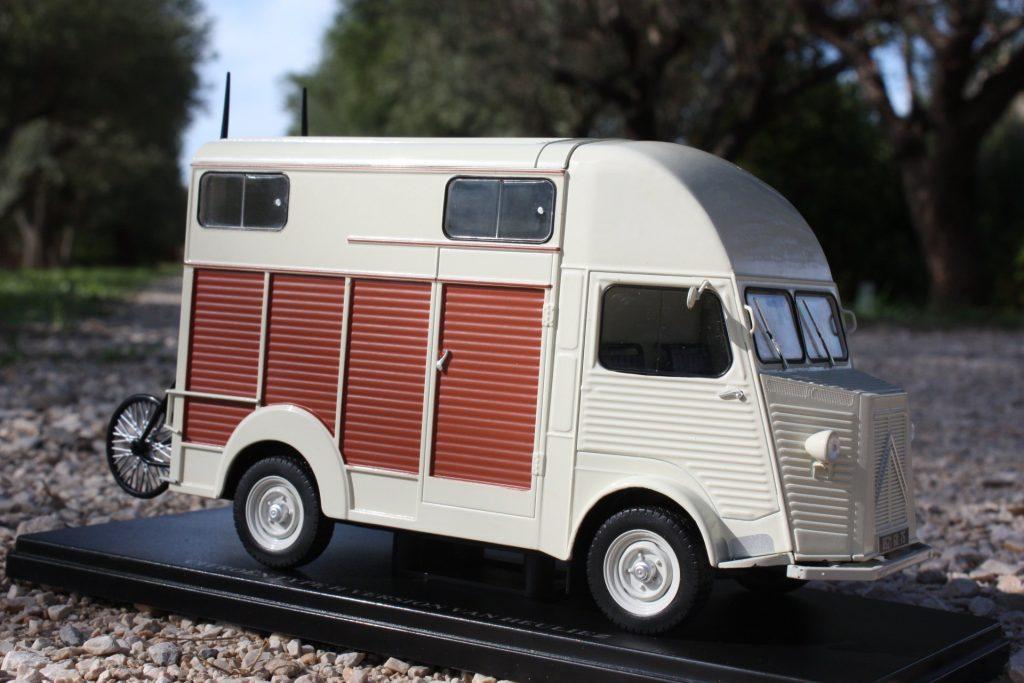 Citroën type h heuliez 1:24 hachette collection ixo