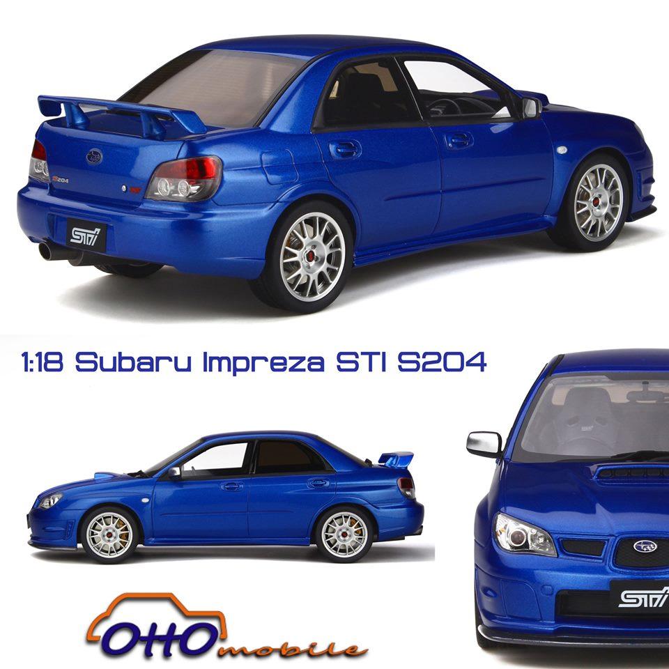 Subaru Impreza STI Otto 1:18