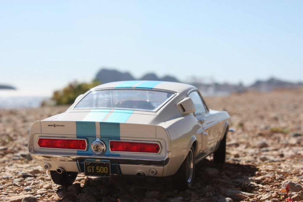 Mustang Shelby GT500 solido 1:18