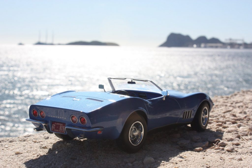 Chevrolet corvette stingray cabrio 1969 1:18 norev