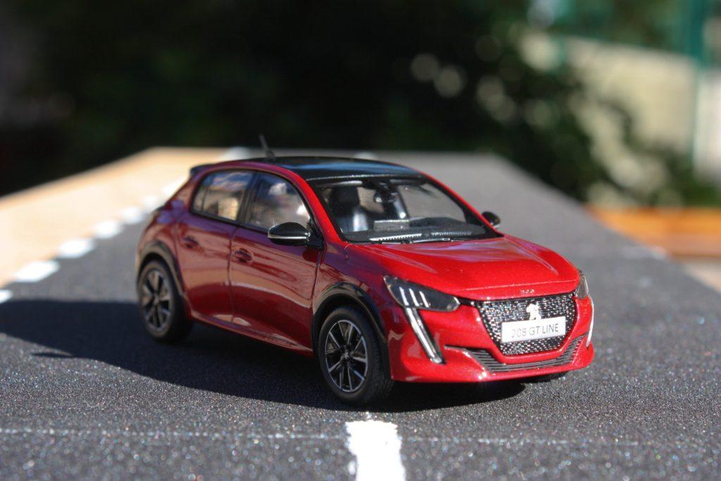 Peugeot 208 2019 norev 1:43