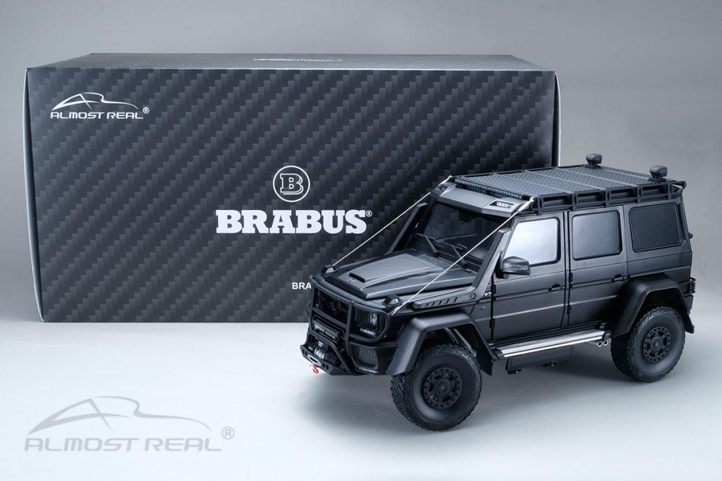 Mercedes brabus 550 adventure 1:18 almost real
