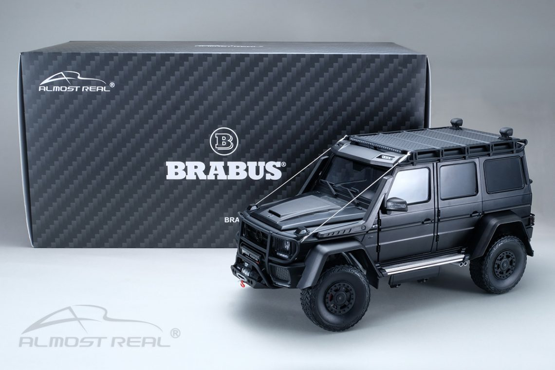 Mercedes brabus 550 adventure 1:18 almost real