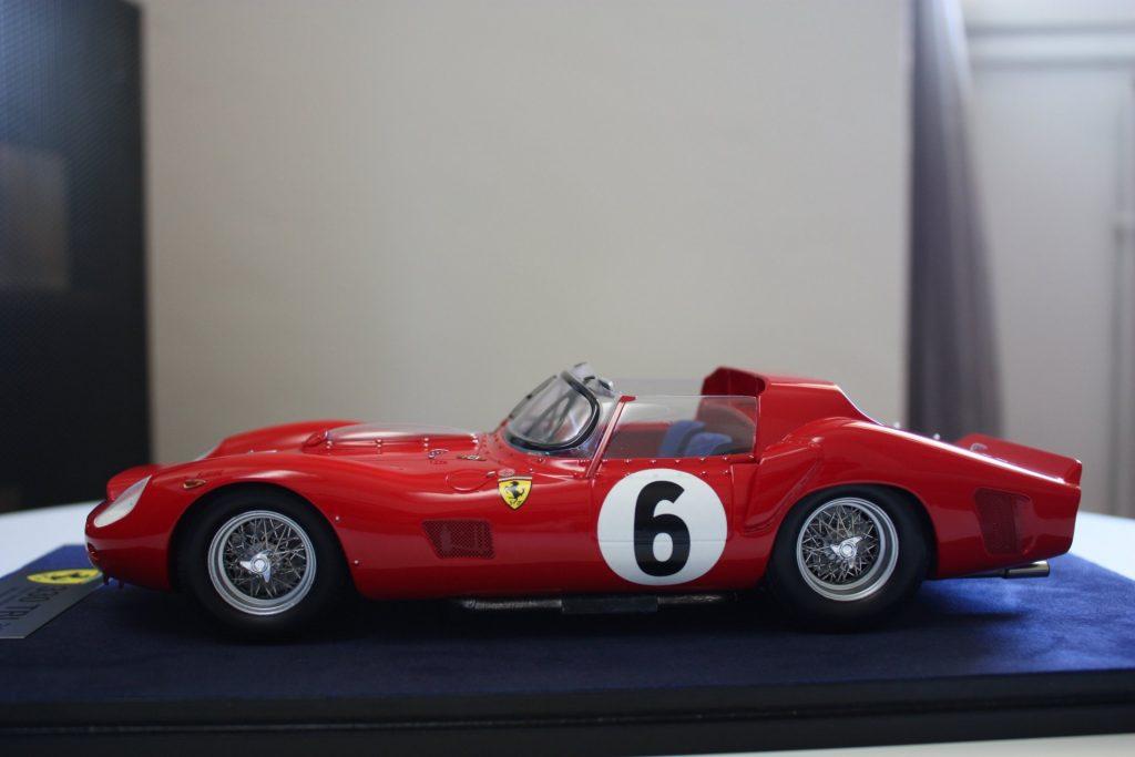 Ferrari 330 tri le mans 1962 1:18 looksmart