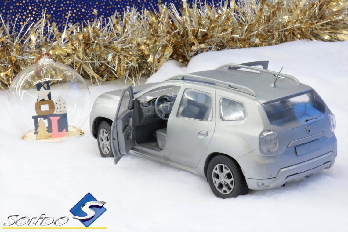 dacia duster 2 1:18 solido