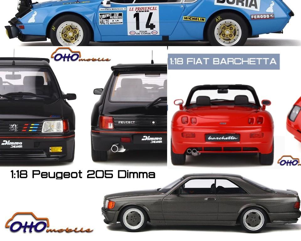 news ottomobile mars 2020 alpine mercedes amg fiat barchetta peugeot 205