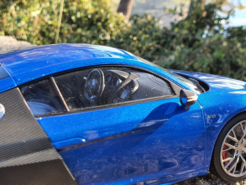 audi r8 lmx 1:18 dna collectibles