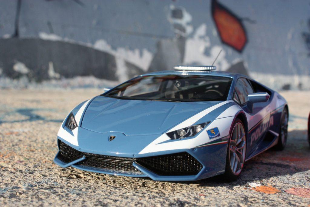 Lamborghini huracan lp610-4 autoart 1:18 polizia