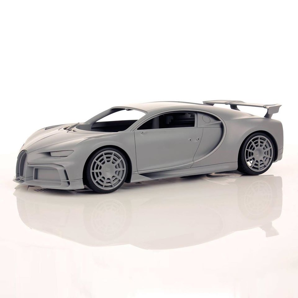 bugatti pur sport 1:18 mr collection models