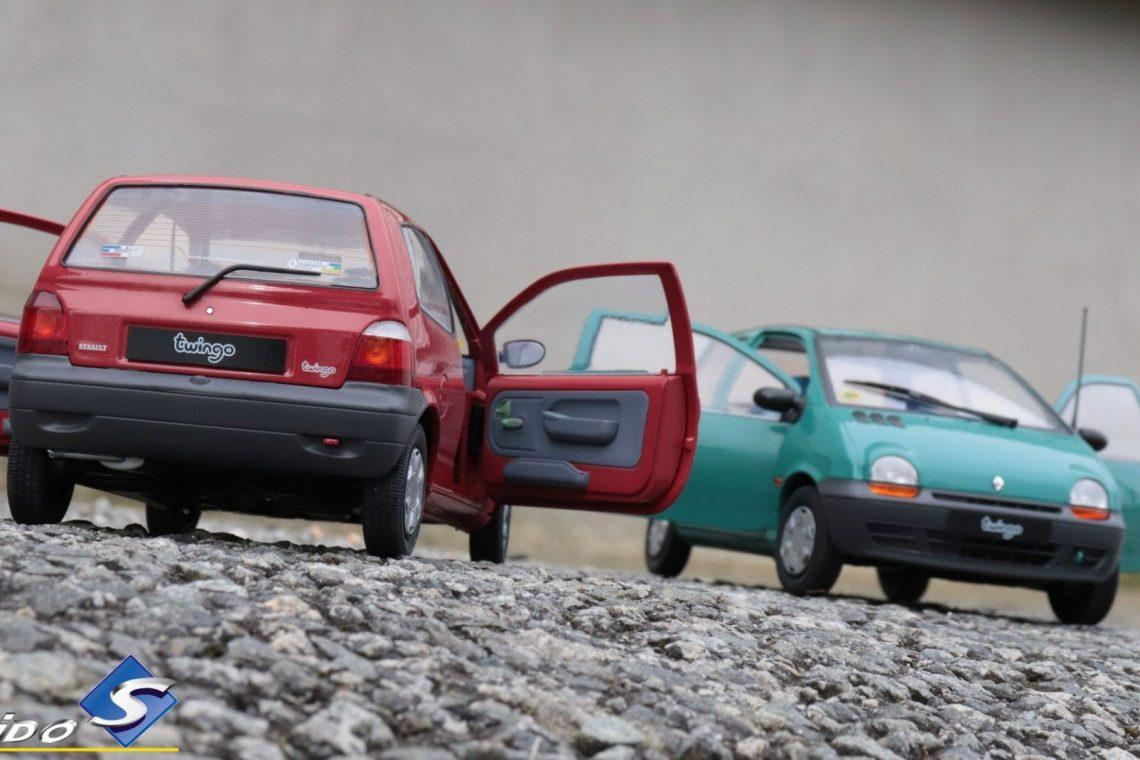 Renault twingo 1:18 solido