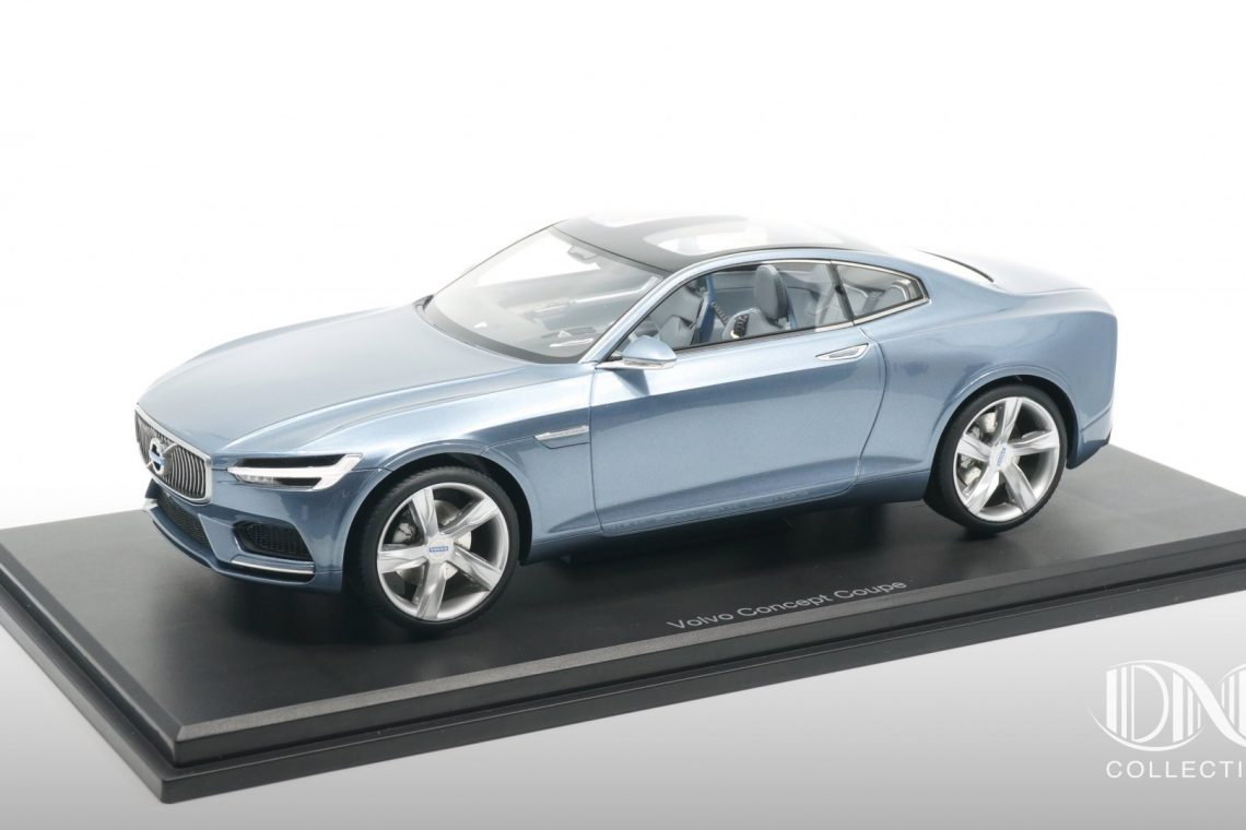 volvo conceptcoupé dna collectible 1:18 polestar