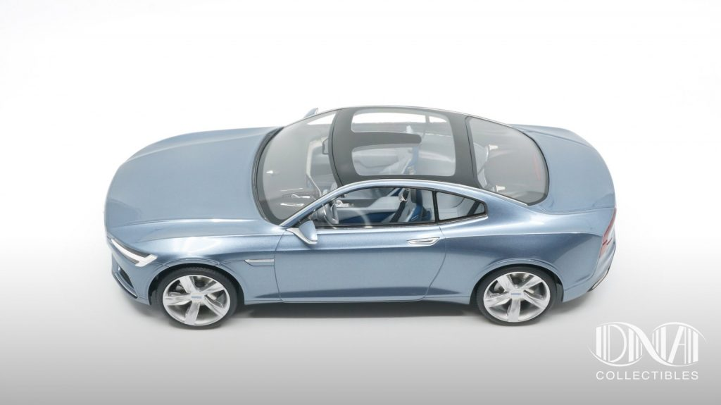 volvo concept coupé dna collectible 1:18 polestar