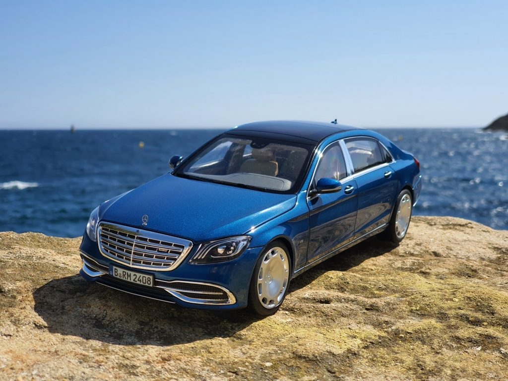 Mercedes Maybach S650 norev 1:18