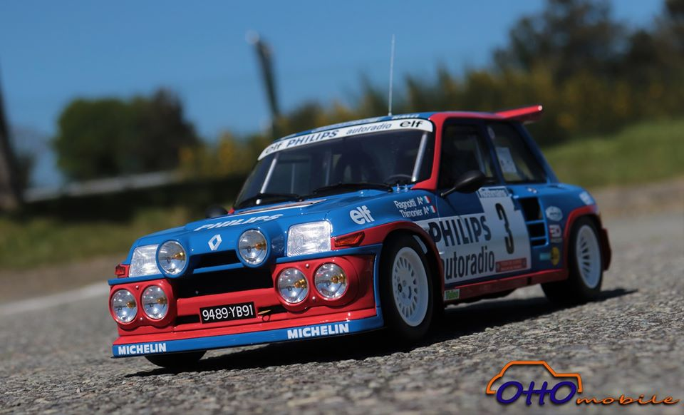 r5 maxi turbo 1:12 ottomobile tour de corse ragnotti