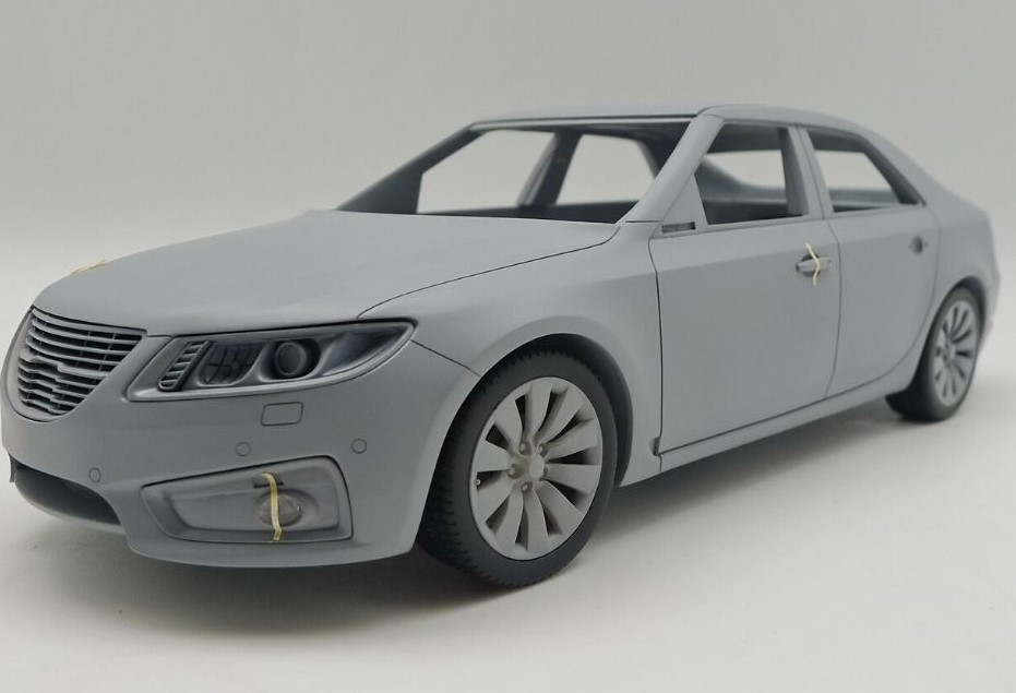 SAAB 9-5 Aero Sedan 2010 1:18 dna collectibles