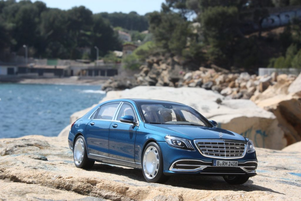 Mercedes Maybach S650 1:18 norev