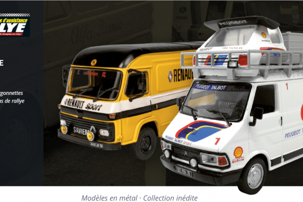 collection vehicules d'assistance rallye 1:43 ixo
