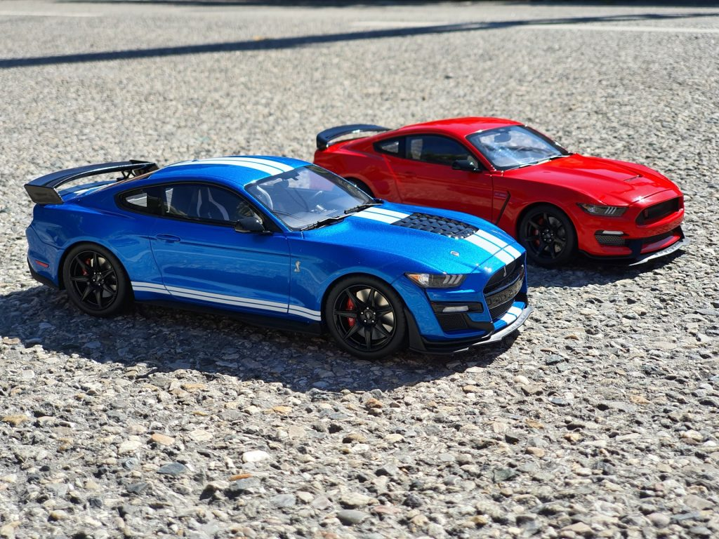 Ford mustang shelby gt-350r 1:18ème autoart