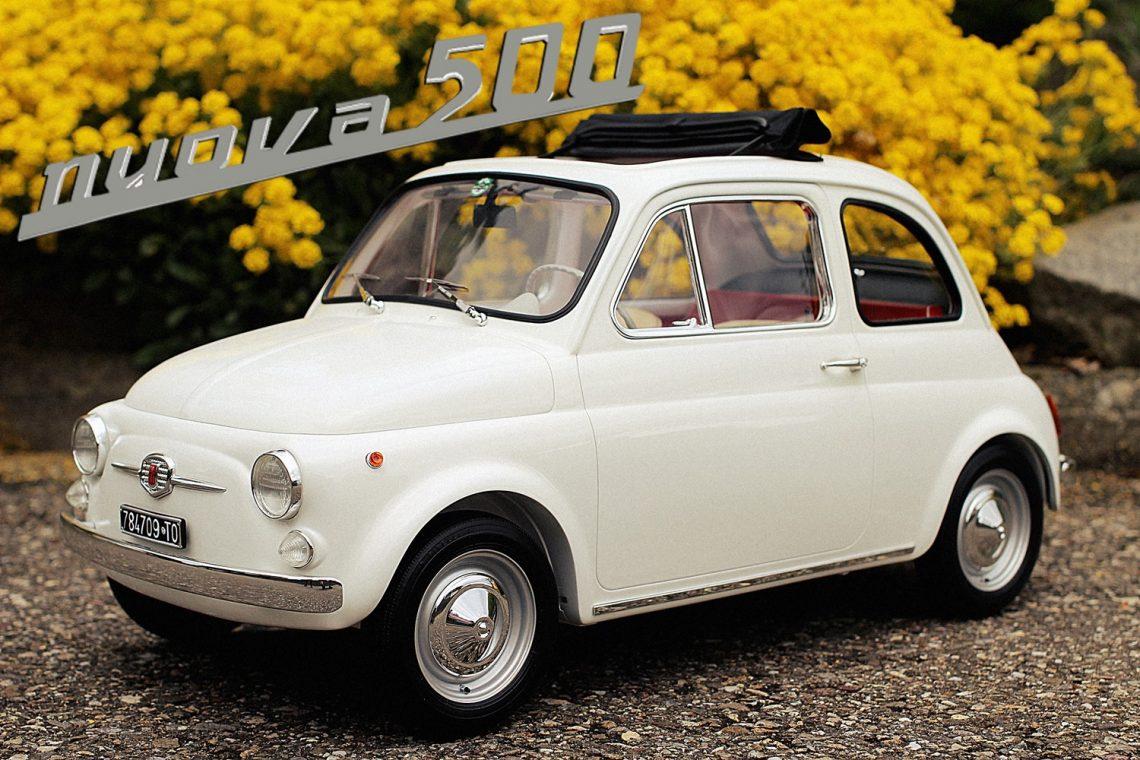 Fiat nuova 500F 1965 1:6 laudoracing