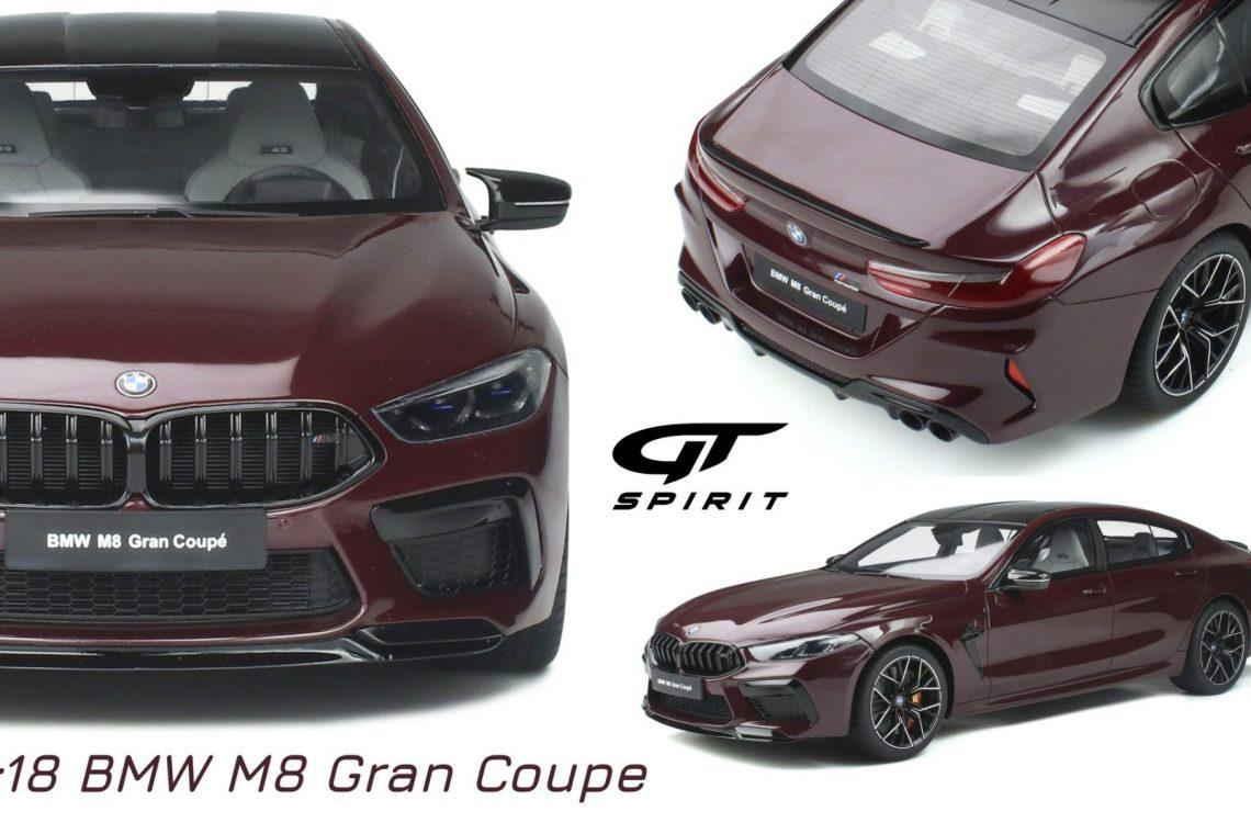 bmw m8 gran coupé gtspirit 1:18