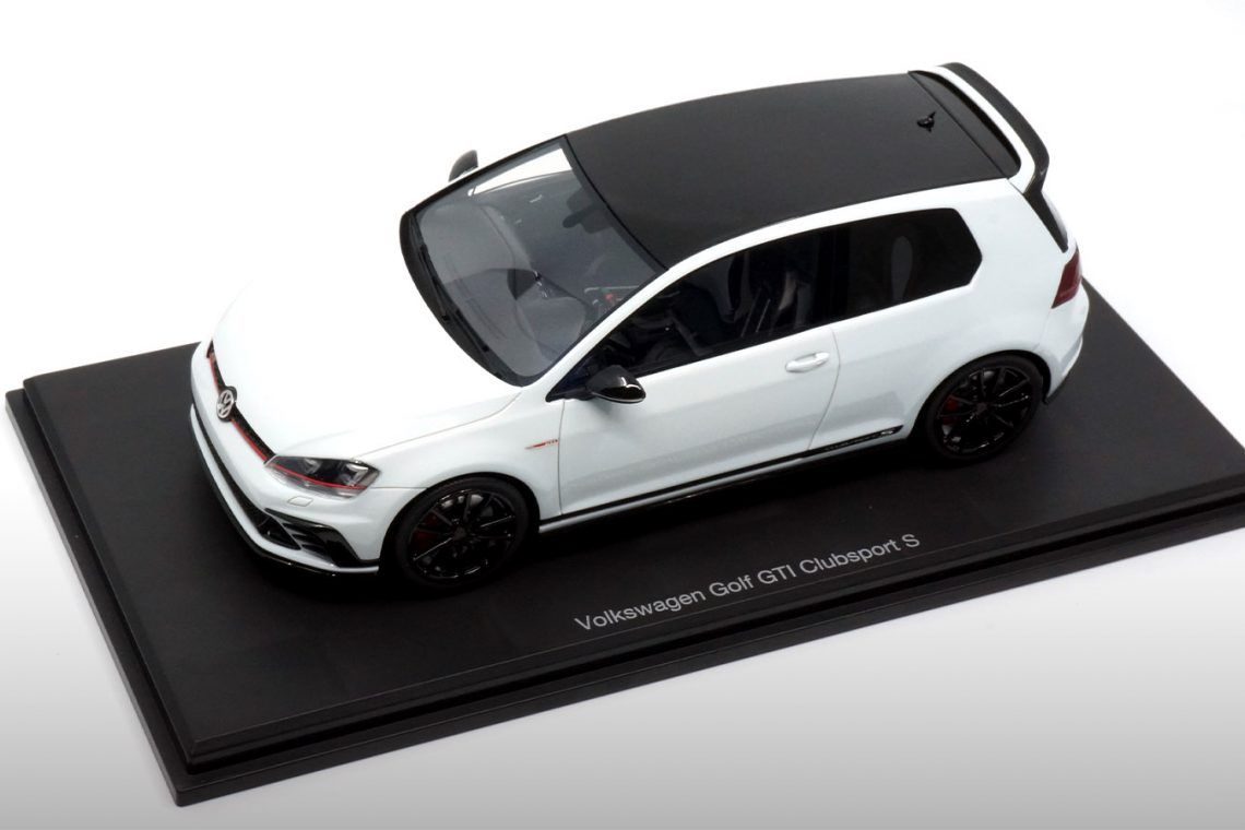 vw golf gti clubsport 1:18 dnacollectibles