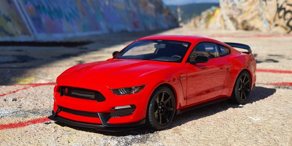 Présentation de la Mustang Shelby GT-350R par Autoart au 1:18ème