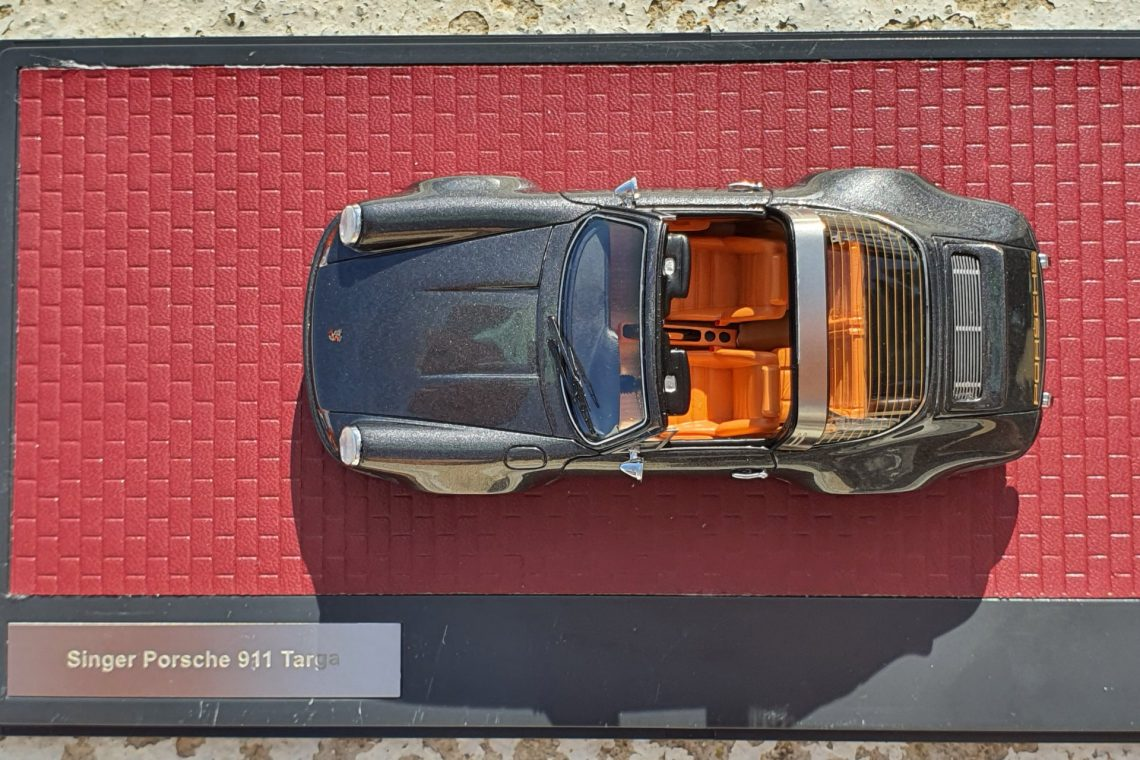 Porsche 911 targa singer montreal 1:43 Matrix