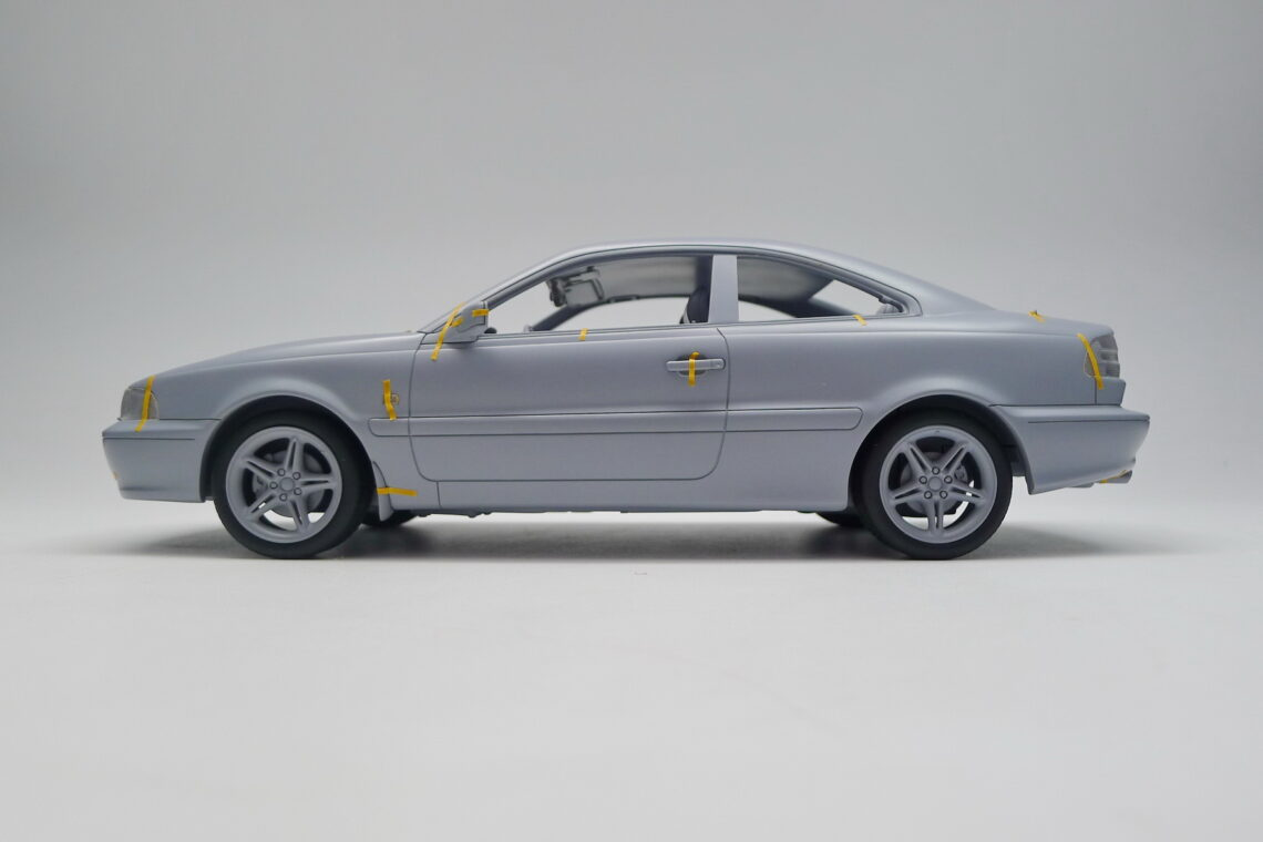 volvo c70 coupé 1:18 dnacollectible