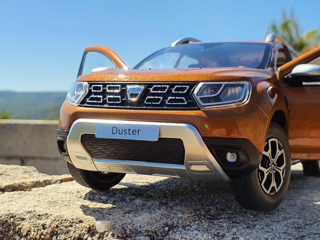 Dacia duster 2 1:18 solido