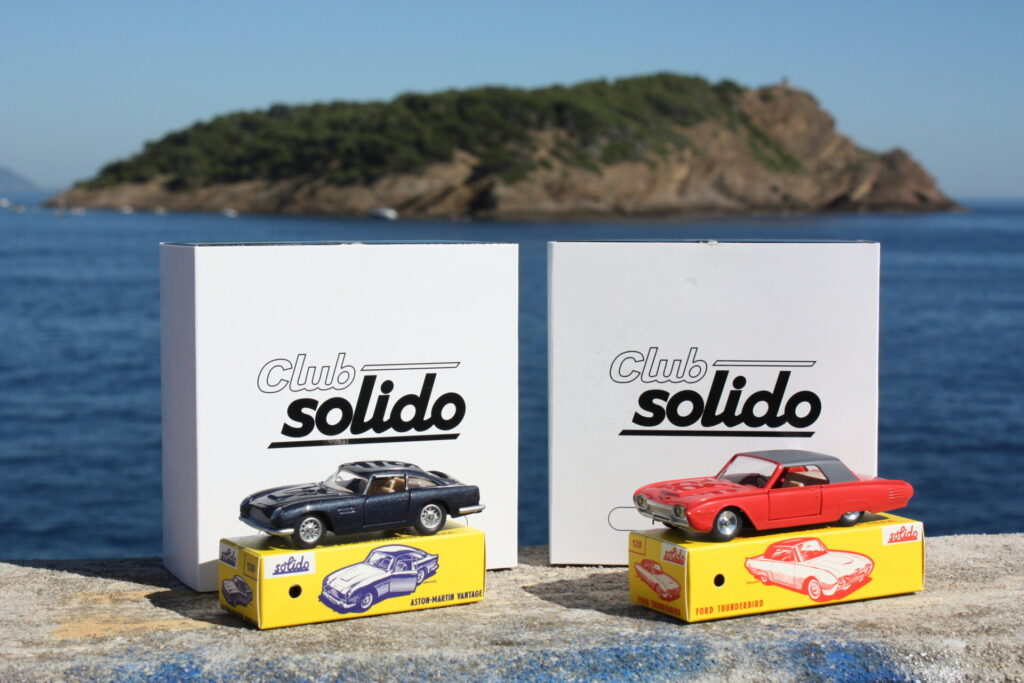 club solido 1:43 aston martin db5 vantage ford thunderbird