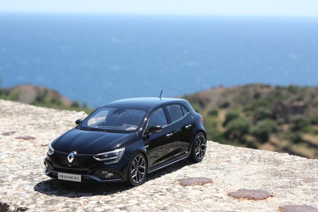 Renault megane rs black edition limitée 1:18 norev