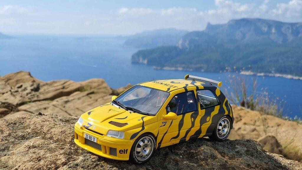 Renault clio maxi presentation 1:18 ottomobile