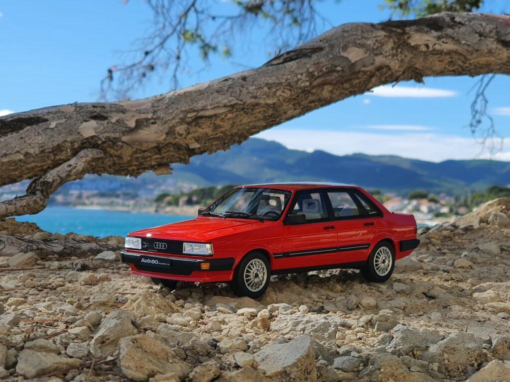 Audi 80 b2 quattro 1:18 ottomobile