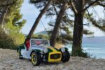 Lotus seven caterham 1:18 solido