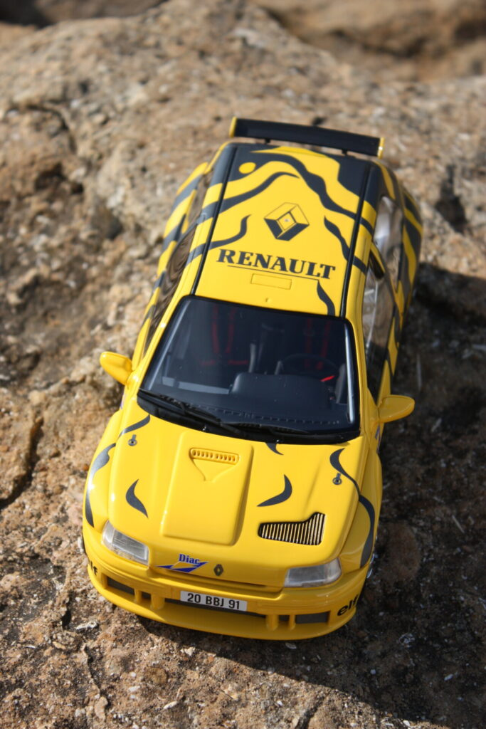renault clio maxi version présentation 1995 1:18 ottomobile