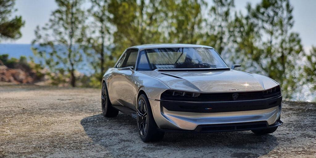 """""""Unboring the future"""" – La tant désirée Peugeot E-Legend au 1:18ème – Présentation de la lionne électrifiée par Ottomobile"""