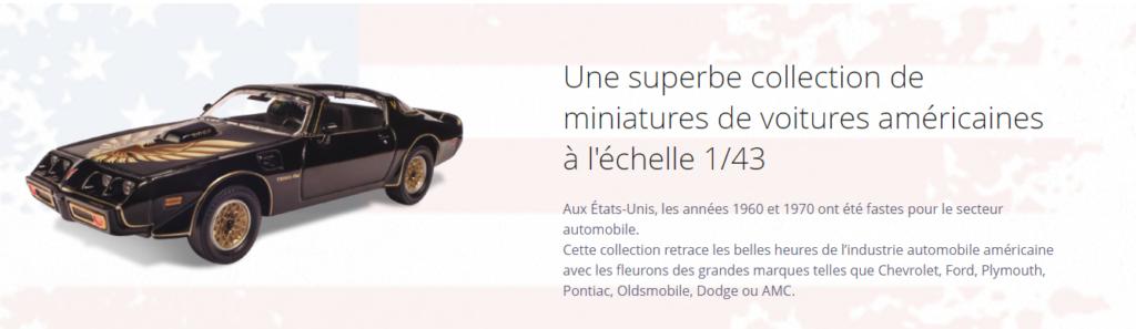 Altaya collection presse american cars 1:43 ixo altaya