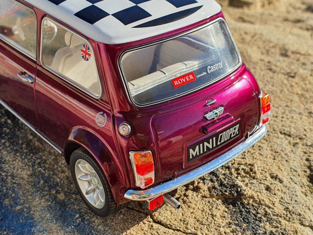 Mini cooper sport pack 1997 solido 1:18