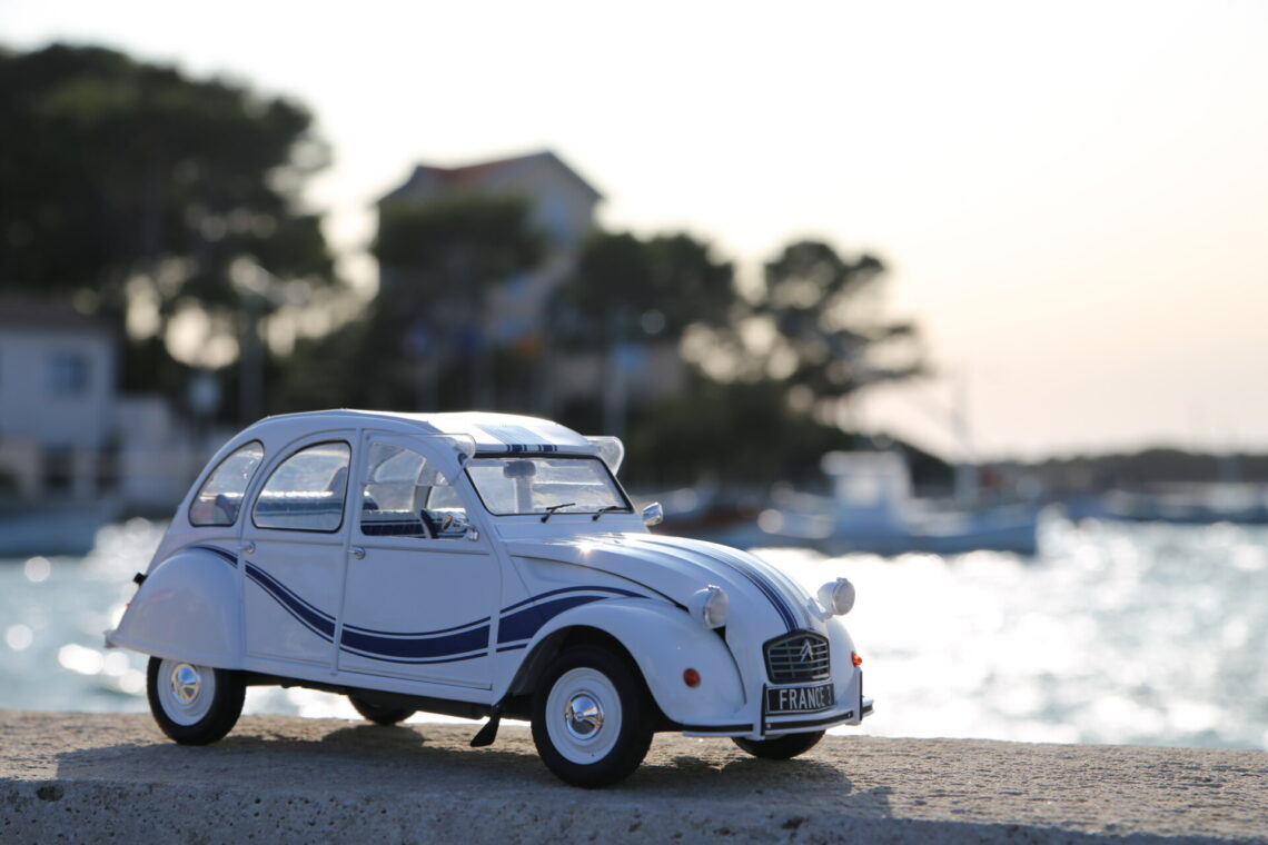 Citroën 2cv france 3 1:12ème zmodels