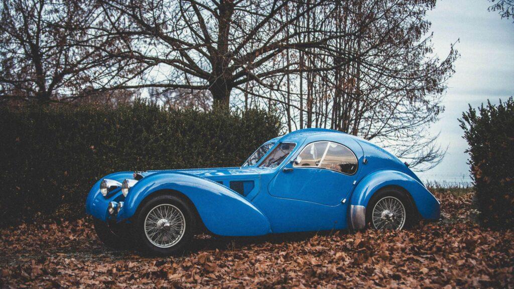 Bugatti 57SC 1:18 solido