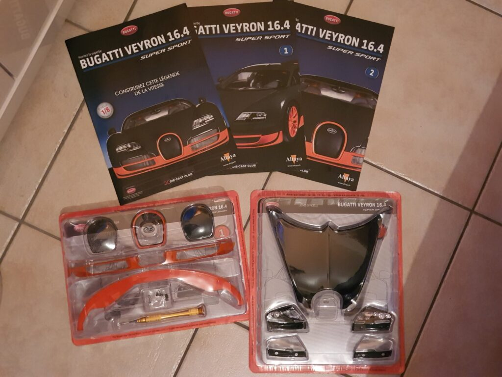 Altaya Construisez la Bugatti Veyron Super Sport au 1:8ème
