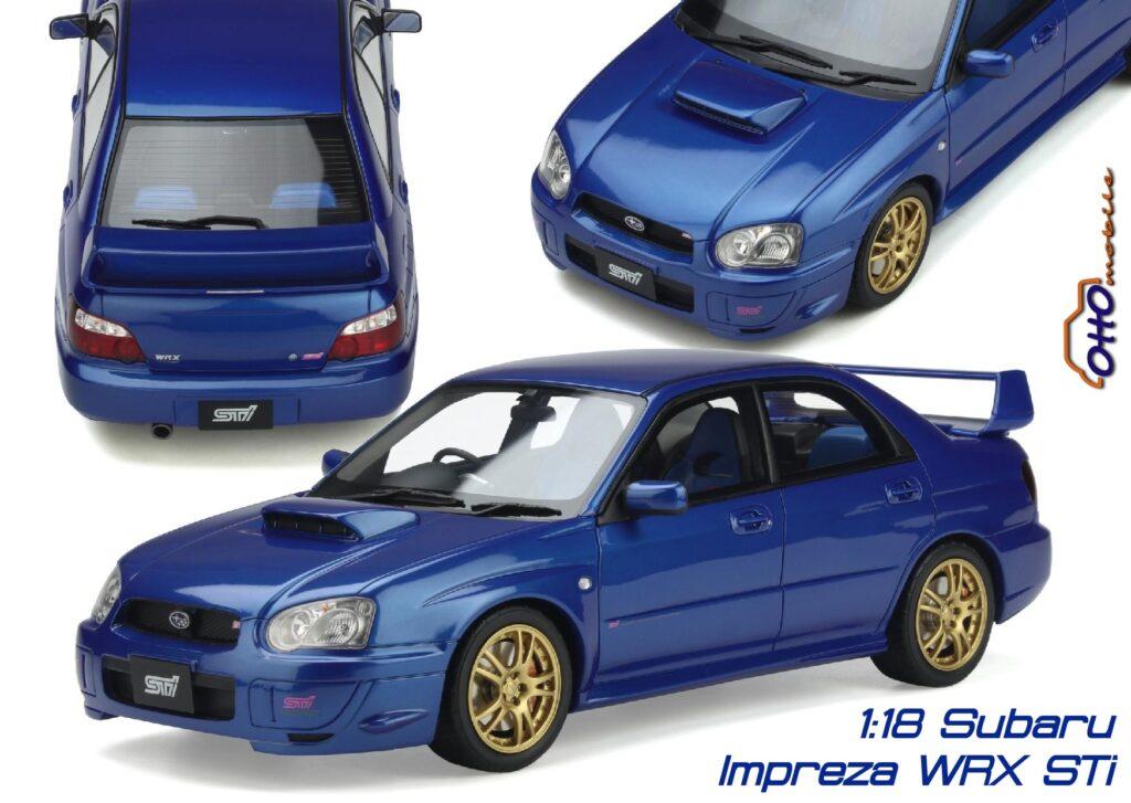 Subaru impreza wrx sti 1:18 ottomobile