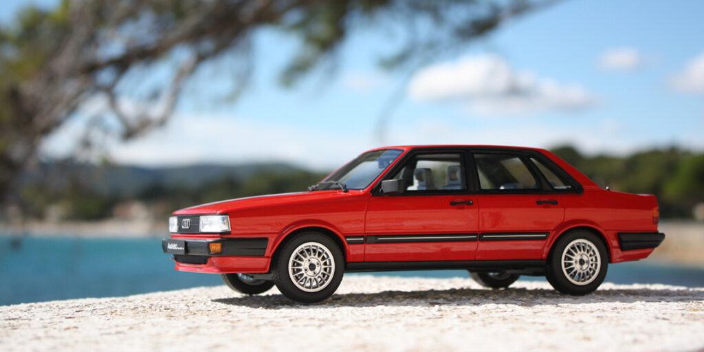 Présentation de l'Audi 80 Quattro de seconde génération par Ottomobile au 1:18ème