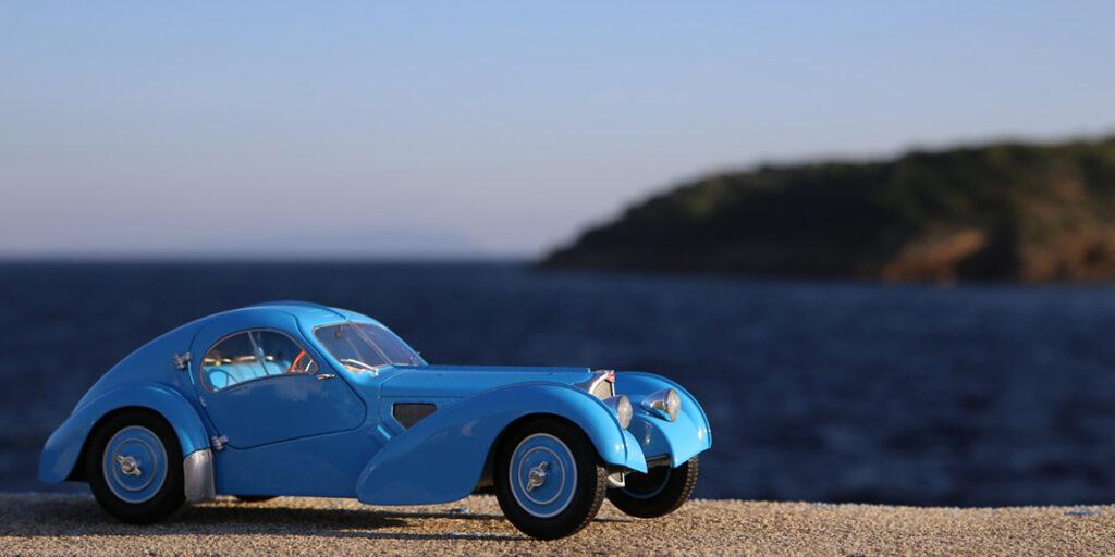 La Bugatti Atlantic 57SC par Solido au 1:18ème – L'expression même de l'élégance, présentation