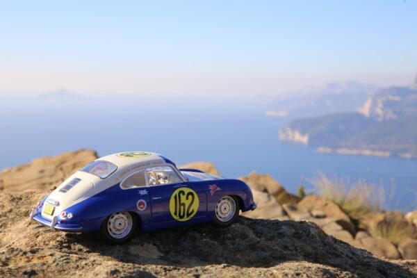 Porsche 356 panamericana 1953 solido 1:18