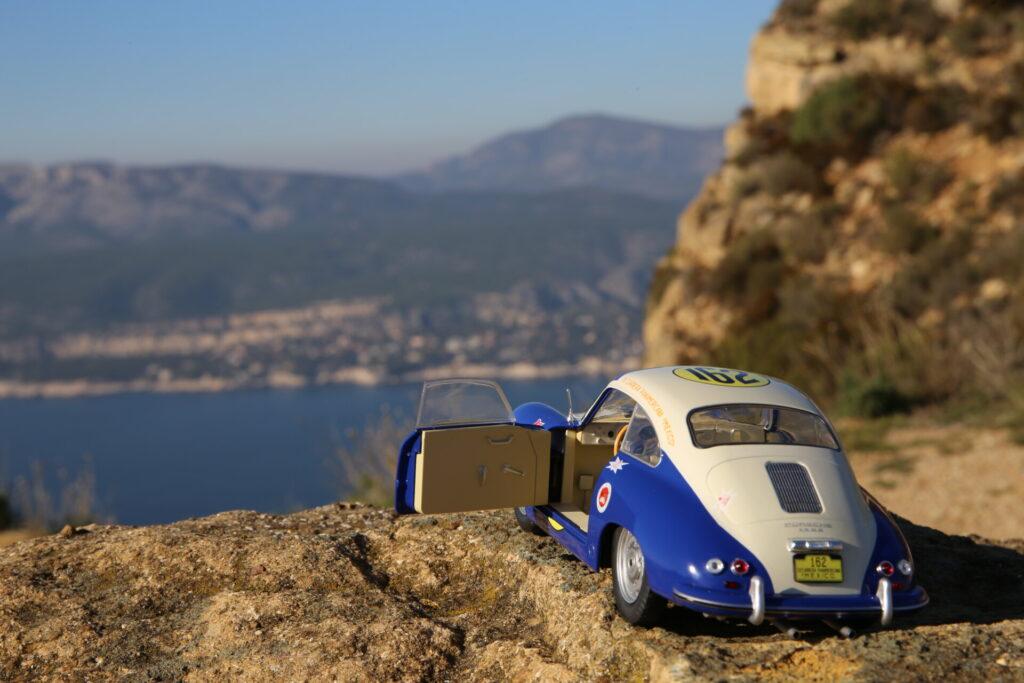 Porsche 356 pré-a panamericana 1953 solido 1:18