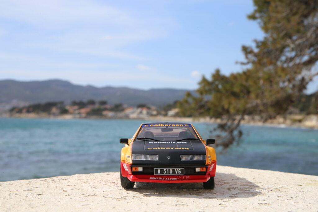 Renault Alpine A310 v6 pack gt évocation Calberson 1:18ème Solido