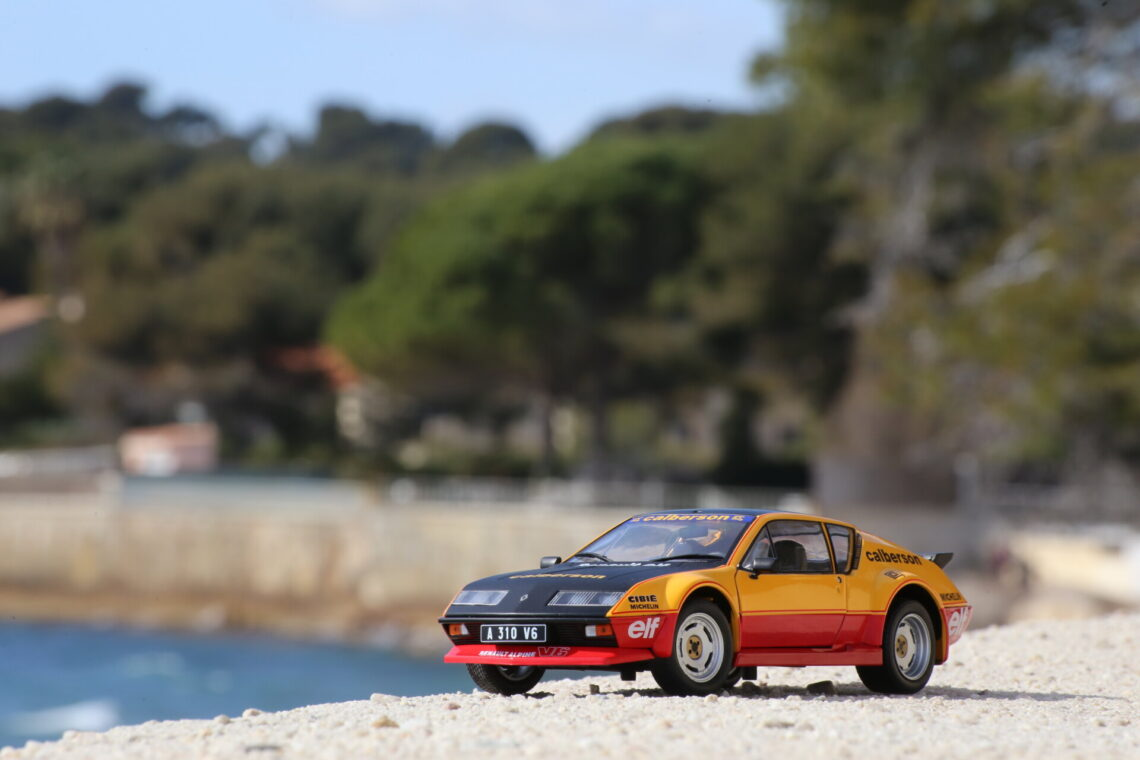 Alpine A310 pack gt inspiration calberson 1:18 Solido